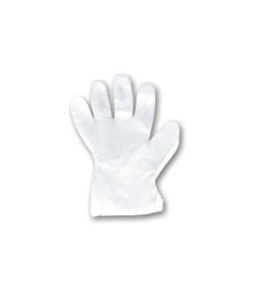 Rękawiczki jednorazowe foliowe