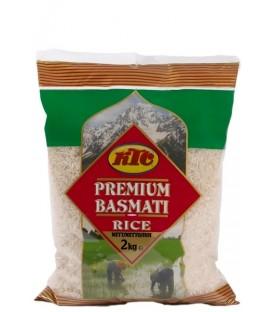 Ryż  Basmati Premium Green Bag 2kg KTC
