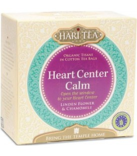 Heart Center Calm! Hari Tea, 10 teabags organic