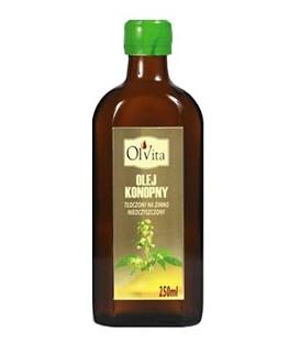Olej konopny zimnotłoczony 250ml Ol'Vita