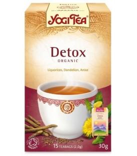 Herbata Oczyszczająca Pure Detox Yogi Tea Bio 17 torebek