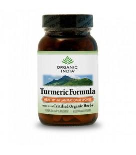 Turmeric Formula Organic India 60 kaps.