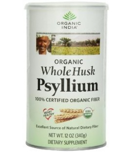 Błonnik Psyllium Husk Fiber Harmony Organic India 340g