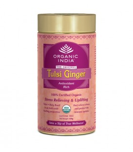 Herbata Ginger Tulsi Tea 100g sypana Organic India
