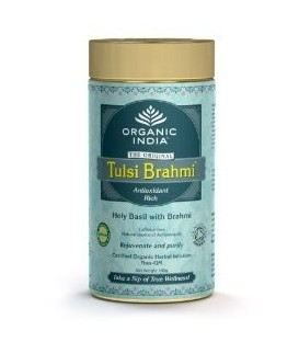 Herbata Brahmi Tulsi Tea 100g sypana Organic India
