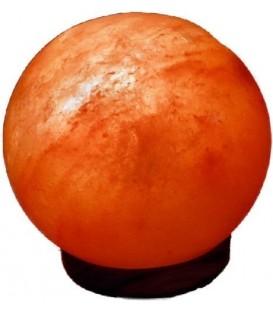 Lampa solna Rzeźbiona w kształcie kuli 18 cm