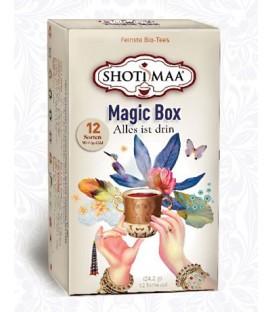 Zestaw Ajurwedyjskich Magicznych Herbat -12 saszetek, Shoti Maa