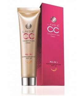 Lekki Krem z Podkładem Lakme Skin Complexion Cream CC 30ml - BEIGE (ciepły beż)
