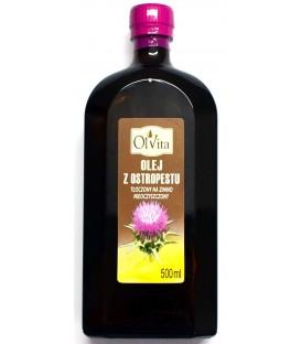 Olej z Ostropestu (tłoczony na zimno) 500ml Olvita
