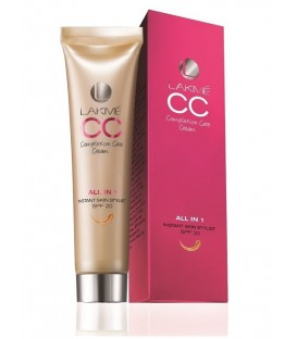 Lekki Krem z Podkładem kolor BRONZE 30ml - Lakme Skin Complexion Cream CC (ciemny beż)