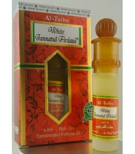 Perfumy w olejku roll-on White Jannatul Firdaus 8ml Al-Taiba