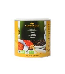 Masala Chai pikantna mieszanka przypraw do indyjskiej herbaty ORGANICZNA 80g Cosmoveda
