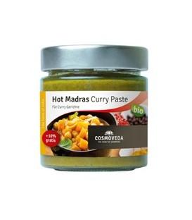 Pikantna Pasta Curry ORGANICZNA 160g Cosmoveda
