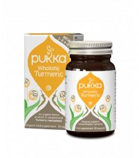 Wholistic Turmeric Wzmacnianie 30 kapsułek BIO PUKKA (suplement diety)