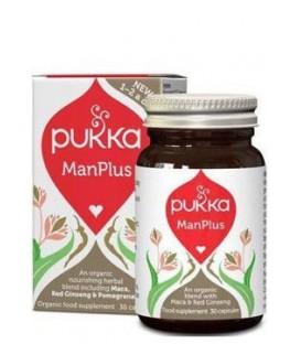 ManPlus dla Mężczyzny 30 kapsułek Pukka  suplement diety