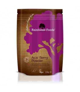 Acai BIO w proszku 125g Rainforest Foods