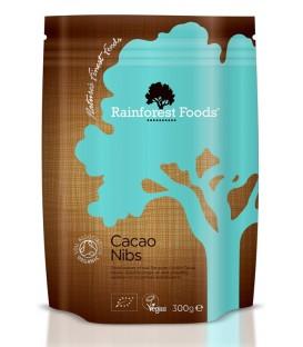 Kakao Kruszone Ziarna BIO 300 g Rainforest Foods