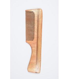 Grzebień do włosów z drzewa Neem, rozmiar B - Eco-friendly