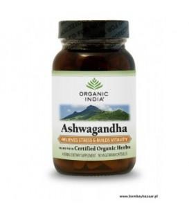 ASHWAGANDHA 90 kaps Organic India