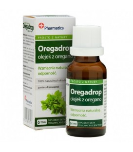 Olejek z Oregano Wzmocnienie Odporności 20ml Pharmatica