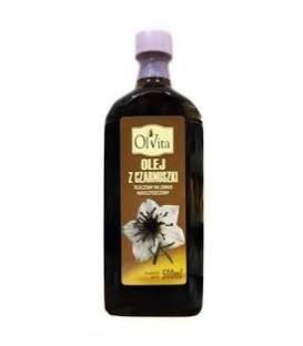 OlVita Olej z czarnuszki 500ml (olej spożywczy)