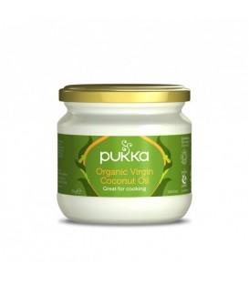 Olej Kokosowy Organiczny Tłoczony Na Zimno 300g PUKKA