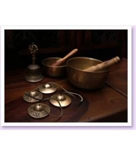 Misy Tybetańskie Płyta z dźwiękami do niezmierzonej obfitości wszechświata