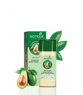 BIO AVOCADO ANTISTRESS MASSAGE OIL 210ML Biotique