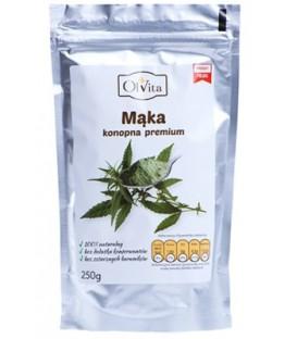 Mąka z nasion konopi 250g Olvita