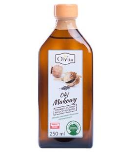 Olej makowy zimnotłoczony  250ml Olvita