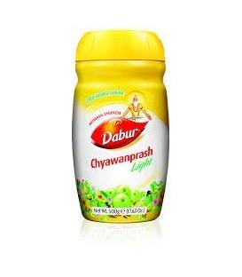 CHYAWANPRASH LIGHT (90 % mniej cukru) 500g DABUR