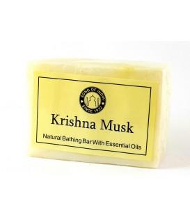 Ręcznie wykonane mydło Krishna Musk 125g Song of India