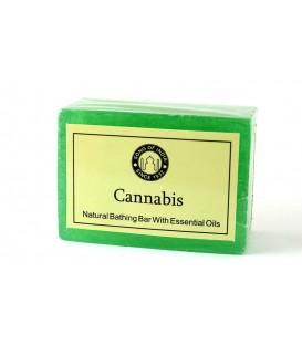 Ręcznie wykonane mydło Cannabis 125g Song of India