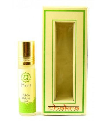 Olejek perfumowany na 4 czakrę HEART 8 ml Song of India