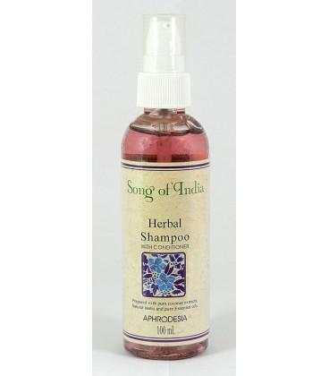 Ziołowy szampon z odżywką do włosów Aphrodesia 100ml Song of India