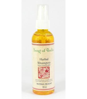 Ziołowy szampon z odżywką do włosów  Buddha Delight 100ml Song of India