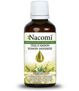 Olej z konopii indyjskiej ECO ciemna butelka 50 ml Nacomi