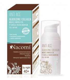 Krem marula z komórkami macierzystymi 40+ na noc 50 ml Nacomi