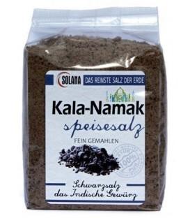 Sól KALA-NAMAK - czarna sól indyjska bardzo drobna 300g