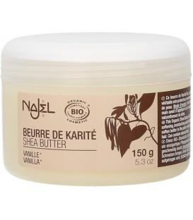 Organiczne masło shea waniliowe 150g Najel