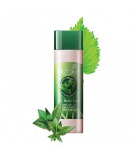 Nabłyszczający szampon z liściem henny 190ml Biotique