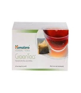 Zielona herbata w saszetkach 20g (10x5g) Himalaya