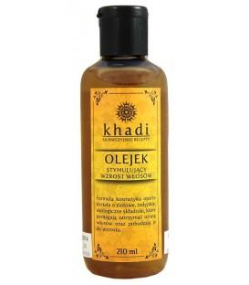 Olejek Stymulujący Wzrost Włosów 210ml Khadi (Bez substancji Limonene)