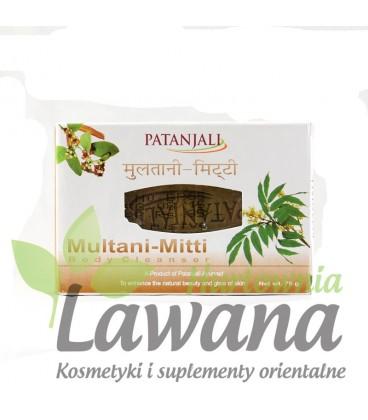 Ajuwerdyjskie mydło z glinką Multani-Mitti 75g PATANJALI - każdy typ skóry