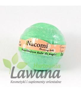 Kula Musująca do kąpieli zielona herbata 130 g Nacomi