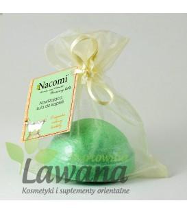 Półkula Musująca do kąpieli zielona herbata 65g Nacomi
