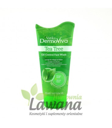 Żel do mycia twarzy skóra tłusta i mieszana 150 ml Dermoviva Dabur
