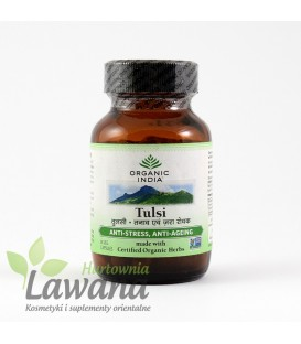 TULSI 60 kapsułek Organic India suplement diety