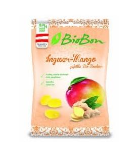 Cukierki o smaku imbiru z mango BIO 85 g - BIO BON