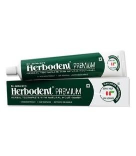Ziołowa w 100% naturalna Pasta do zębów Herbodent Premium Przeciw próchnicy Dr. Jaikaran - ajurwedyjska receptura 21 ziół